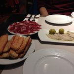 Traditional tapas