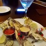 oysters appetizer....husband loved this