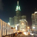 Overlooking the Clock Tower (Abraj Al-Bait Towers)
