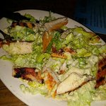 Yummy Grilled Chicken Caesar Salad