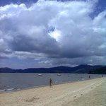 Praia do Jabaquara cedo
