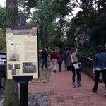 Walking through historic neighborhoods