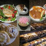 Soups, Salads, Sandwiches, Espresso, luscious pastries and cakes!