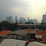 View of Jakarta City