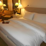 Bed after turndown service