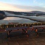 View at breakfast - Drumoig Golf Hotel