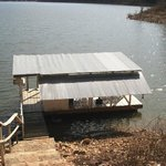 Our private fishing and swimming dock
