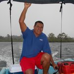 Captain Chris...he picks you up at Jack and Lee's and ensures that you have a great day