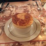 Lobster and crab souffle
