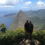 We hiked Gros Piton!