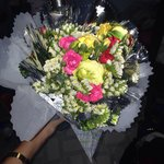 Rectrices flowers from the owner's on Women's Day