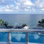 view over your private pool at Wag Water villa
