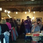 Crowd at Cornerstone - Beer Dinner