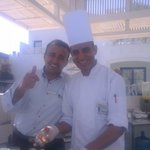 The lovely Hany and Mohammed