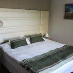 Le lit de la chambre 42