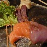 Köstliches Sashimi