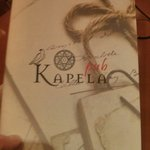 Instead of Baobab pub we find Kapela put. Hostess told that it is the same but renames place.