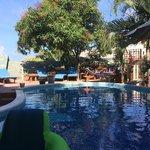 Pool area/lounge area