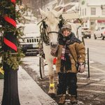 Winter Carriage ride