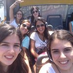 bus with friends