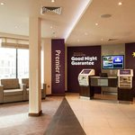 Canterbury City Centre Premier Inn Reception Area
