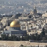 The Dome of the Rock from the Mount of Olives
