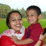 Dr. JayaLaksmi und Sohn