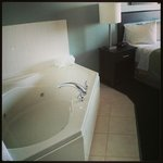 Jacuzzi tub in King suite