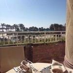 Petit dejeuner a The Terrace