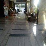 Grand Whiz Kuta lobby area