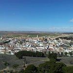 Vista de la villa de BELMONTE desde el Castillo