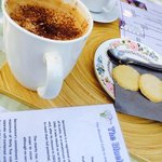 Coffee break at the Bluebell