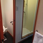 Out bathroom -hard to get any smaller!!!