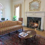 A section of the elegant sitting room