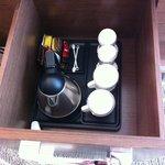coffee kit cupboard