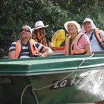Australian tourists observed on the river