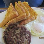 French Toast, Sausage & Eggs!