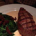 A 300 gramm steak