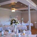 Salle de réception pour les mariages
