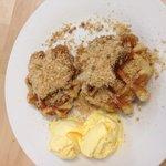Double Portion of Apple Cinnamon Waffle