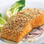 Crispy Sesame Salmon with Ginger