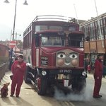 Elizabeth the Whitby Steam Bus