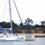 en escale sur l'île d'Aix ...une petite plage ...le rêve ...