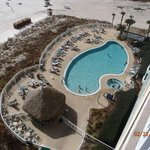 View of pool from my balcony 10th floo