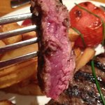 My 'medium rare' steak AFTER re cooking