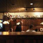 """Array of beer """"steins"""" on display"""