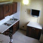 vista cucina dell'appartamento 4