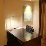 Desk area club room