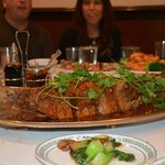 Large Crispy Fish for New Year's celebration