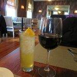 Bordeaux and Eartbound cocktail